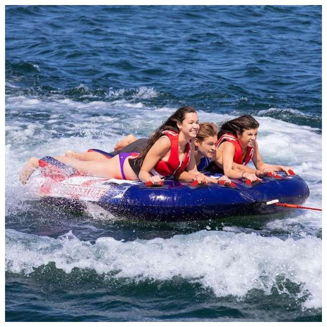 53-4313 SportsStuff Stars & Stripes 3 Rider Towable Inflatable Tube 1