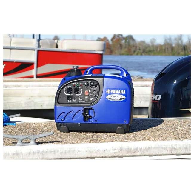 EF1000iS Yamaha EF2400iSHC 1000-Watt Portable Inverter, Blue   3