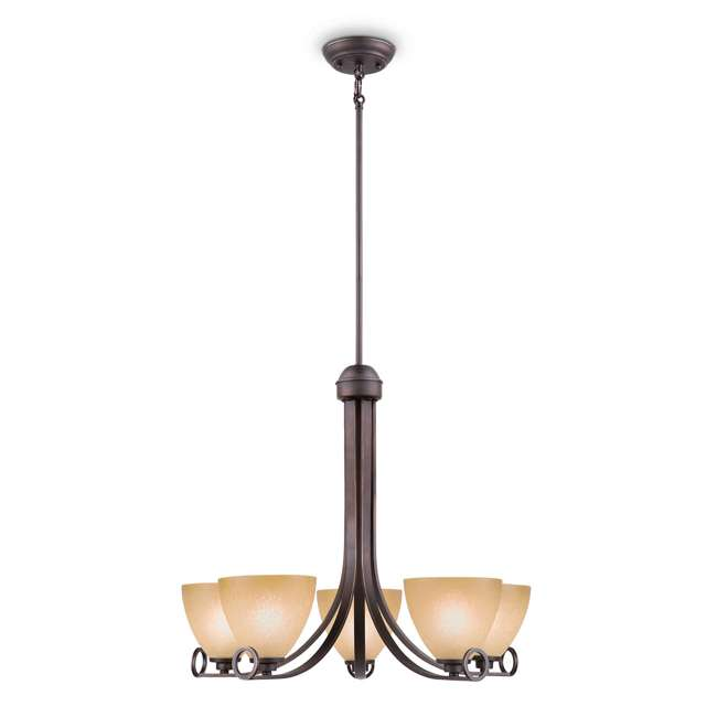 4 x PLC-TK0024715 Philips Maurice Suspension Chandelier, Oiled Bronze (4 Pack) 2