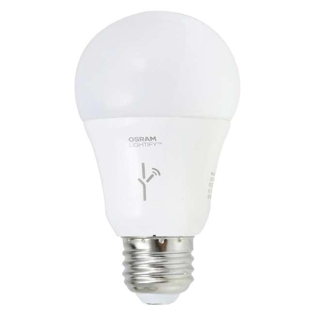 3 x SYL-72933-U-A Sylvania  Lightify 60-Watt A19 Tunable White Smart LED Bulb  (Open Box) (3 Pack) 1