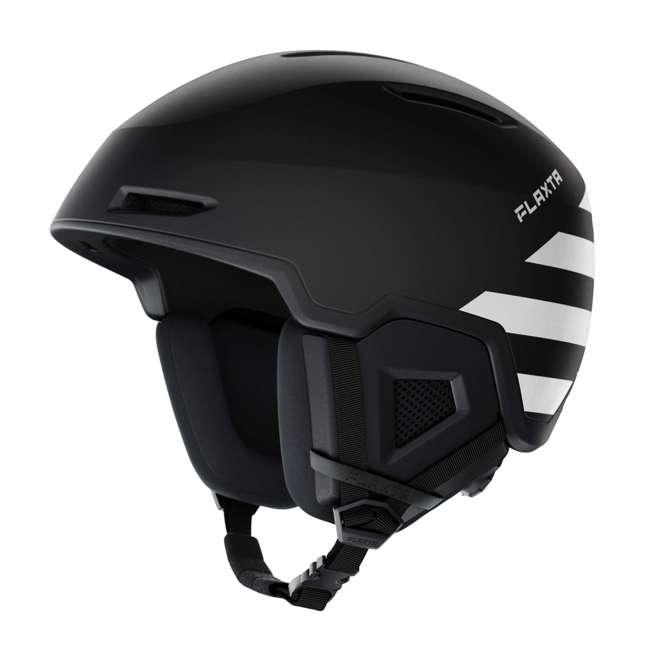 FX901101025SM Flaxta Exalted Protective Ski and Snowboard Full Helmet Small/Medium Size, Black