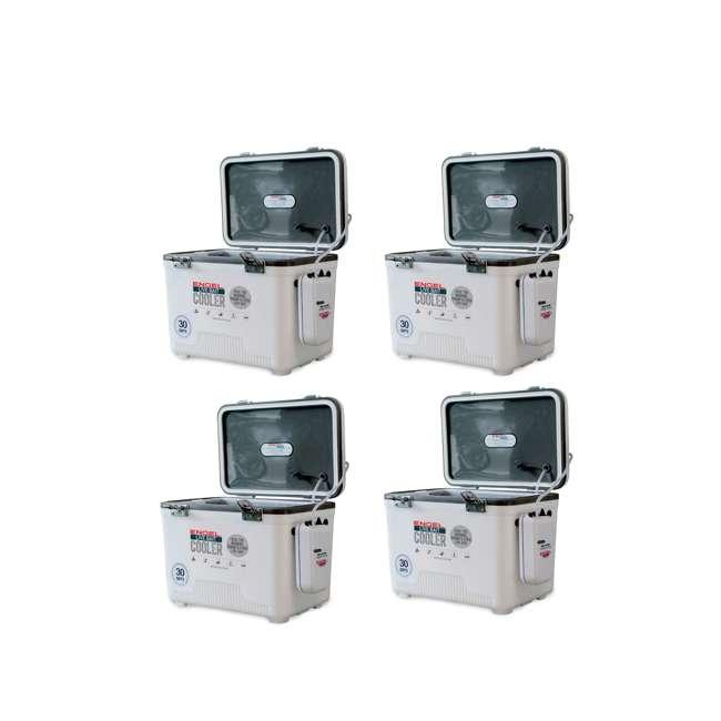 4 x ENGLBC30-N Engel 30 Quart Live Bait Dry Box Cooler (4 Pack)