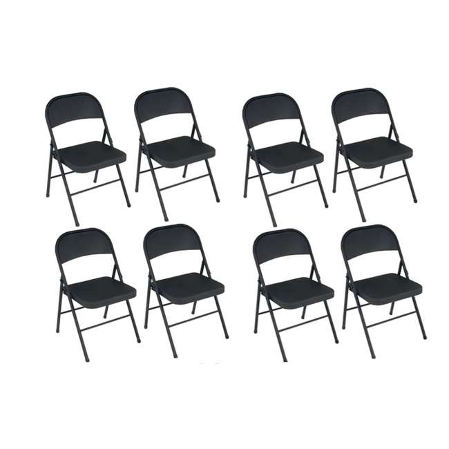 Outstanding 8 Cosco All Steel Commercial Folding Chairs 8 Pack Machost Co Dining Chair Design Ideas Machostcouk