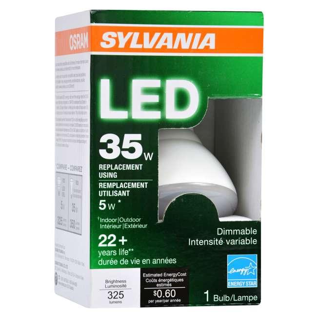SYL-73781-U-A Sylvania R20 35W Energy Saving Soft White 2700K LED Flood Light Bulb (Open Box) 1