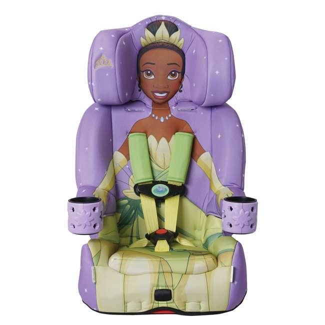 KE-3001TIA KidsEmbrace 2 in 1 Convertible Forward Facing Car Seat, Disney Princess Tiana
