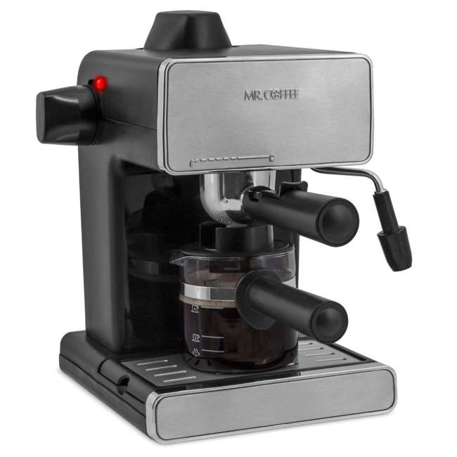 Mr Coffee Latte Maker Clearance : Mr. Coffee BVMC-ECM260 Steam Espresso Machine, Stainless Steel and Black (Refurbished) : BVMC ...