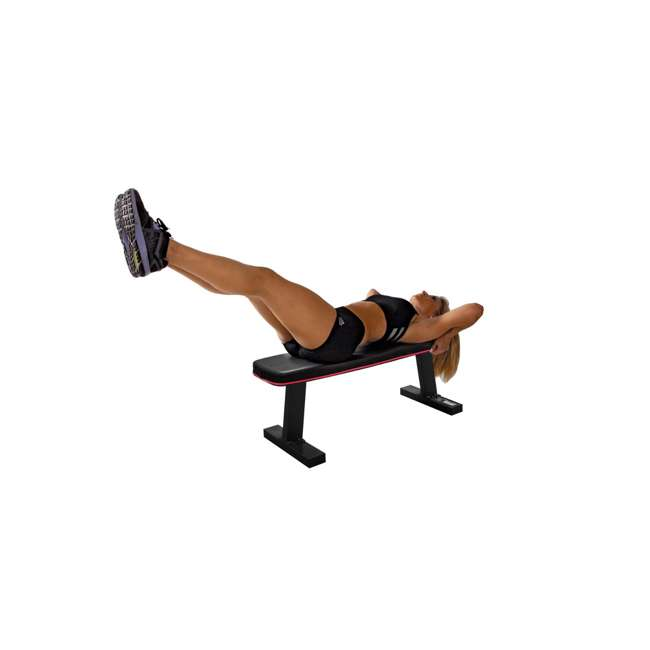 SB-5405-U-B Marcy Home Gym Exercise Fitness Workout Flat Board Weight Lifting Bench (Used) 6