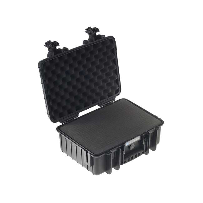 4000/B/SI B&W International 4000/B/SI Hard Plastic Outdoor Case with Removable SI Insert 1