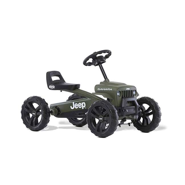 24.30.12.00 BERG Toys Jeep Buzzy Sahara Pedal Powered Kids Adjustable Go Kart