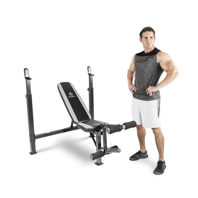 marcy fitness olympic multipurpose weightlifting bench