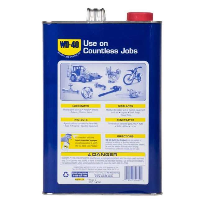 WD-490118 WD-40 490118 Multi Use Heavy Duty Soaking Dipping Lubricant Product, 1 Gallon 3