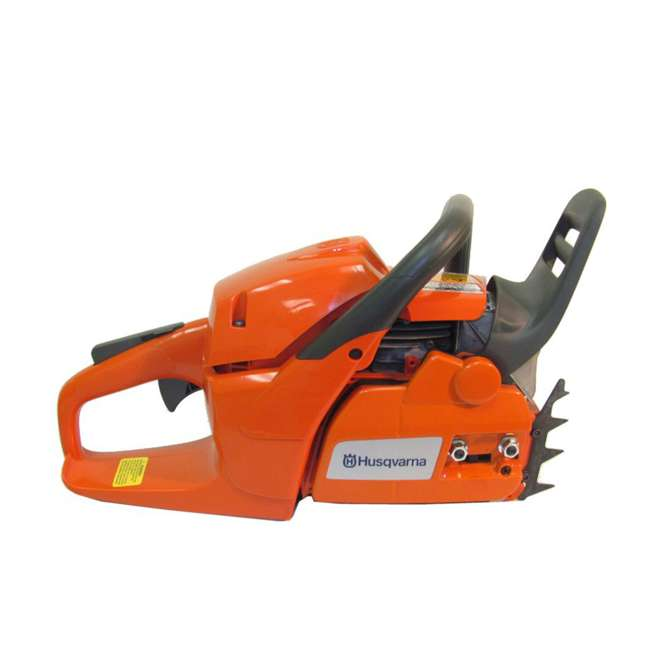HV-CS-966048320 + HV-TOY-522771104 Husqvarna 460 20-Inch 3.62 HP Gas-Powered Chainsaw | 440 Toy Kids Chainsaw 4