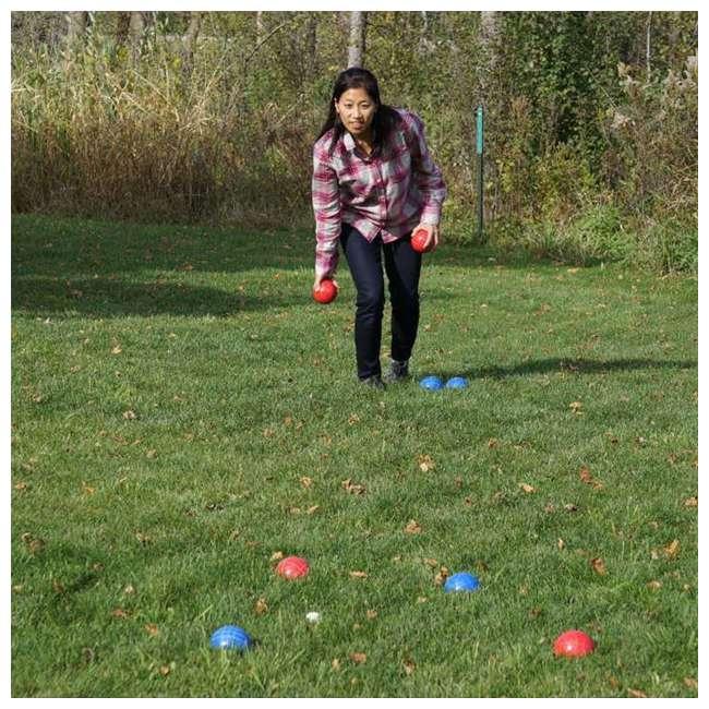 BOCCE-004 Classic 8-Ball 2-Color Backyard Bocce Ball Game Set 4