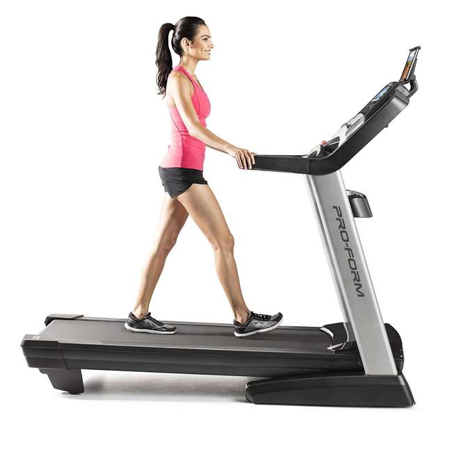 PFTL13017 ProForm Performance 1800i iFit Enabled Portable Home Folding Treadmill, Black 1