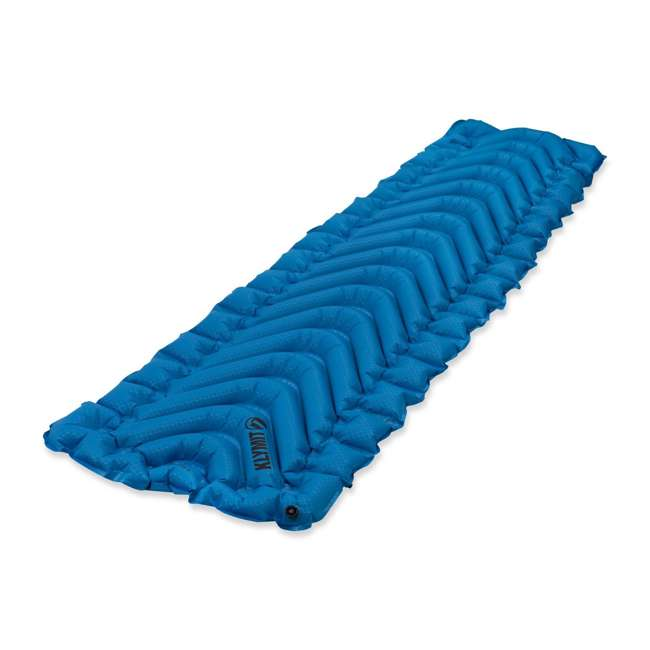 06SUBL01C Klymit Static V Ultralite SL Inflatable Sleeping Pad, Blue