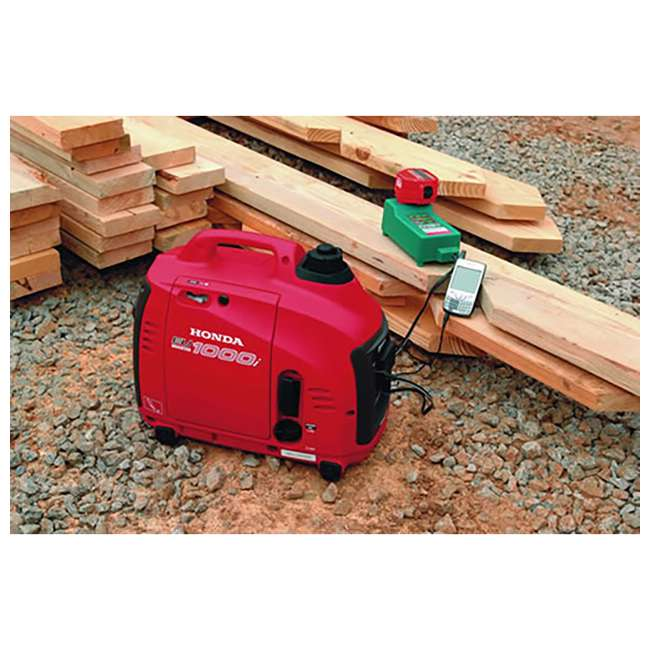 EU1000T1A Honda EU1000T1A 1000 Watt Portable Lightweight Super Quiet Generator 3