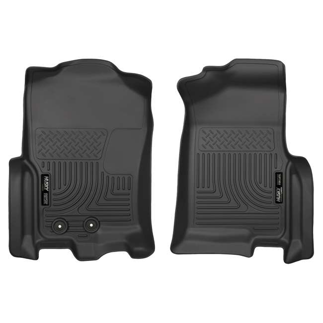 HUSKY-18371-OB Husky Liner Weatherbeater Front Floor Liner for Ford Expedition & Lincoln Navigator