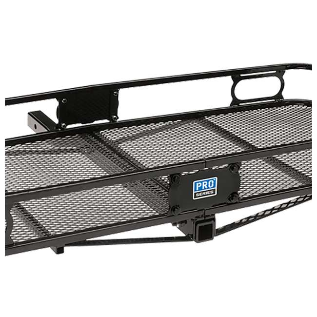 """PRO-SERIES-63153 + SHP2040 Pro Series Cargo Basket + 5/8"""" Silent Hitch Pin Press-On Lock for 2"""" Hitches 4"""