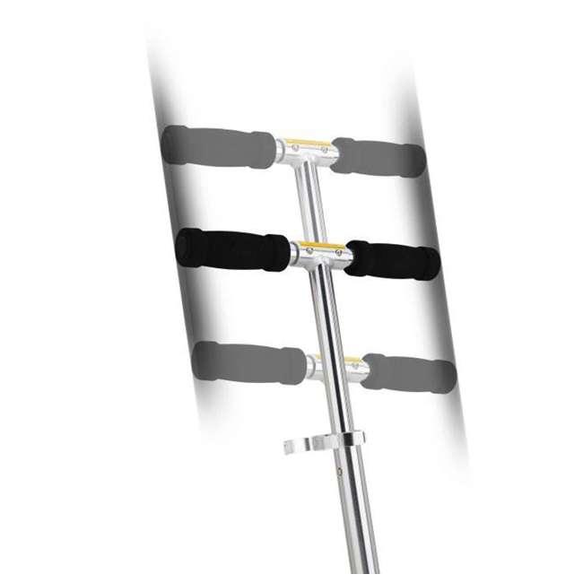 13003A2-RD + 13003A2-CL Razor A2 Kid Folding Aluminum Portable Kick Push Scooter w/ Wheelie Bar (2 Pack) 9