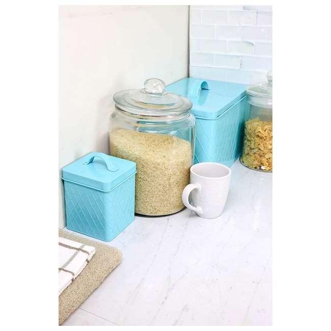 PH44974 + BT47374 + CS47382 + CS47383 + CH47377 Home Basics Paper Towel Holder, Banana Rack, Small/Large Tins, & Cutlery Holder 10