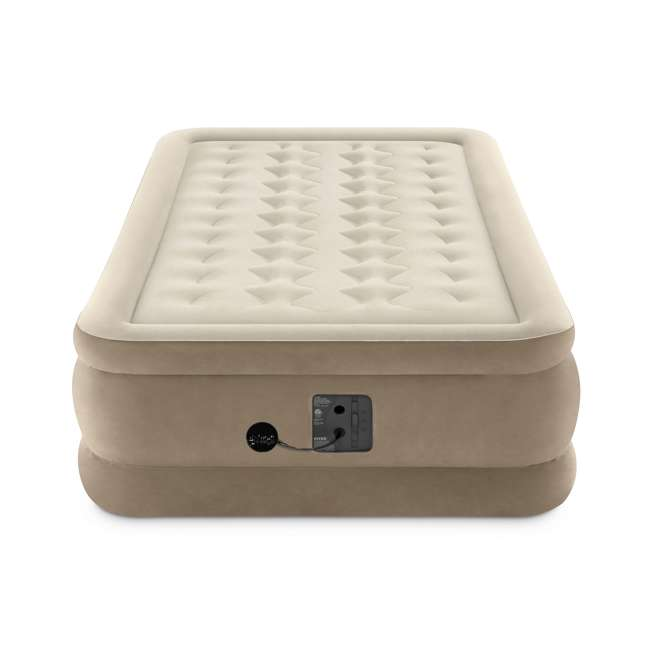 64455EP Intex Ultra-Plush Inflatable Airbed Mattress w/Built-in Pump, Twin  2