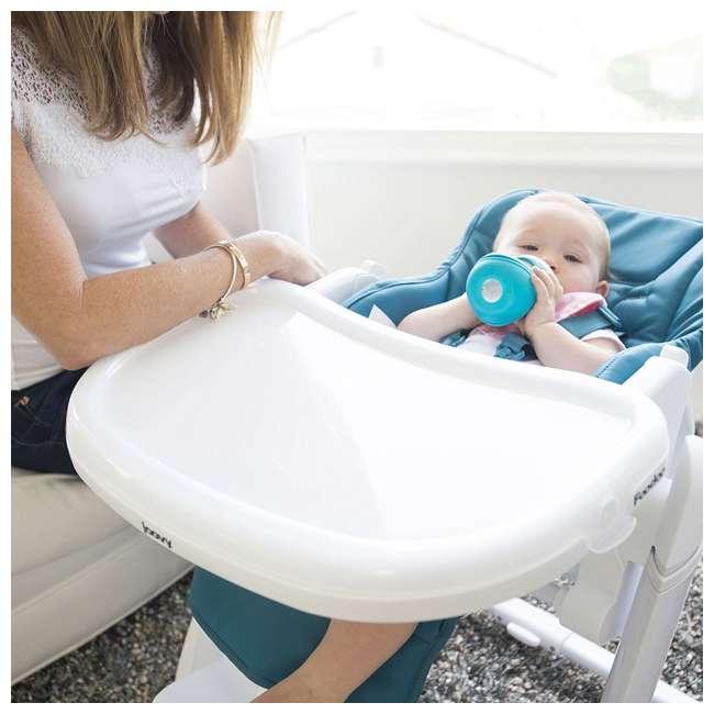 JVY-2129 Joovy Foodoo Adjustable Reclining Portable Baby High Chair, Gray 3