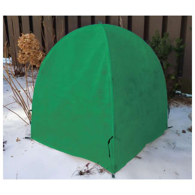 VUE-30294 NuVue 30294 40 Inch All Season Plant Shrub Frost Protection Cover, Garden Green 1