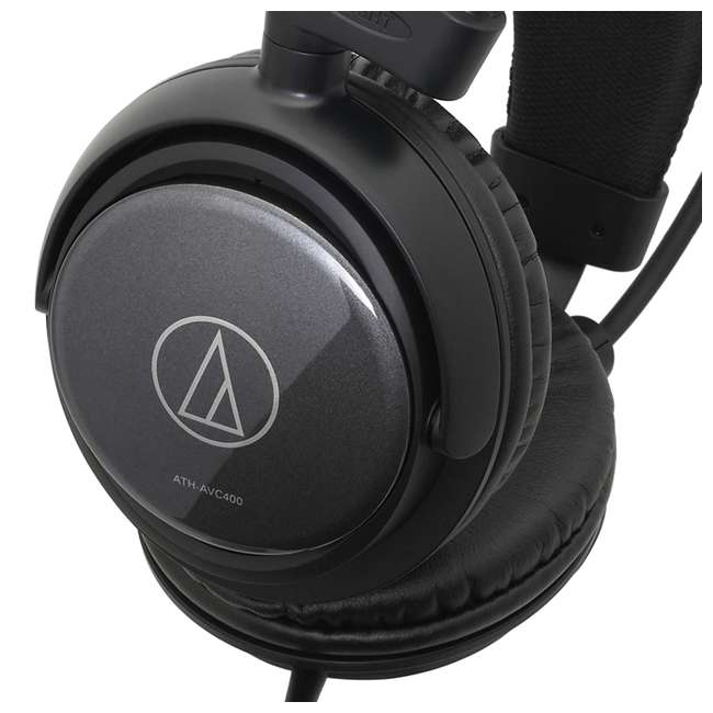 ATH-AVC400-OB Audio-Technica SonicPro ATH-AVC400 Over-Ear Headphones 3