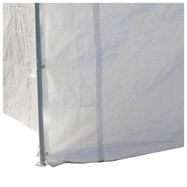 CVAN22006200010 + CVAN12000211010 Caravan Canopy Domain 10 x 20-Foot Canopy with Sidewalls 9