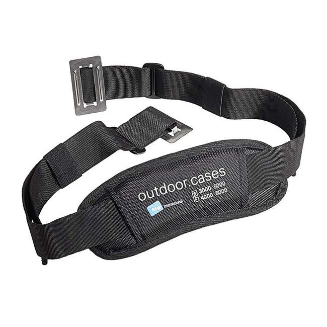4000/Y/SI + CS/3000 B&W International Plastic Outdoor Case with SI Insert and Shoulder Carry Strap 5
