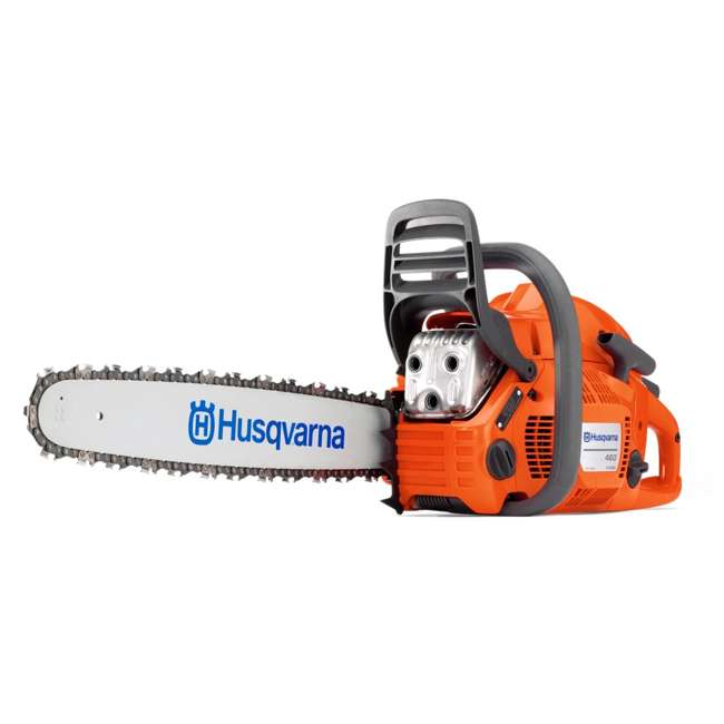 HV-CS-966048334 + HV-TOY-522771104 Husqvarna 460 Rancher 24-Inch Gas Chain Saw and 440 Toy Kids Chainsaw, Orange 1