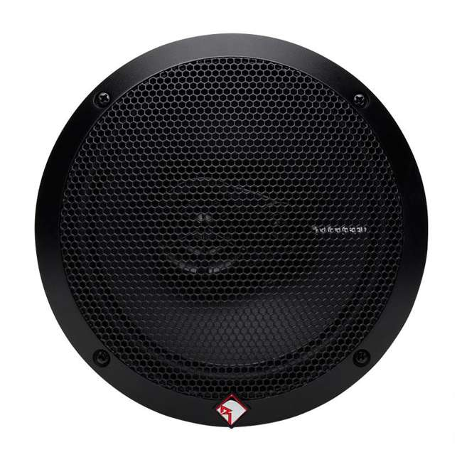 R165X3 Rockford Fosgate R165X3 6.5-Inch 90W 3 Way Coaxial Speakers (Pair) 5