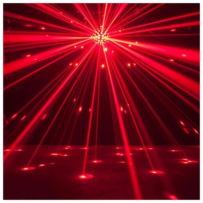 STARBURST + MINISTROBE-LED American DJ Starburst HEX LED Sphere Lighting Effect and Mini LED Strobe Light 4