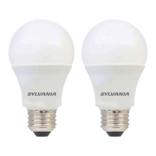 SYL-79293 Sylvania A19 12W 120V E26 Clear Daylight LED Bulb (2 Pack)