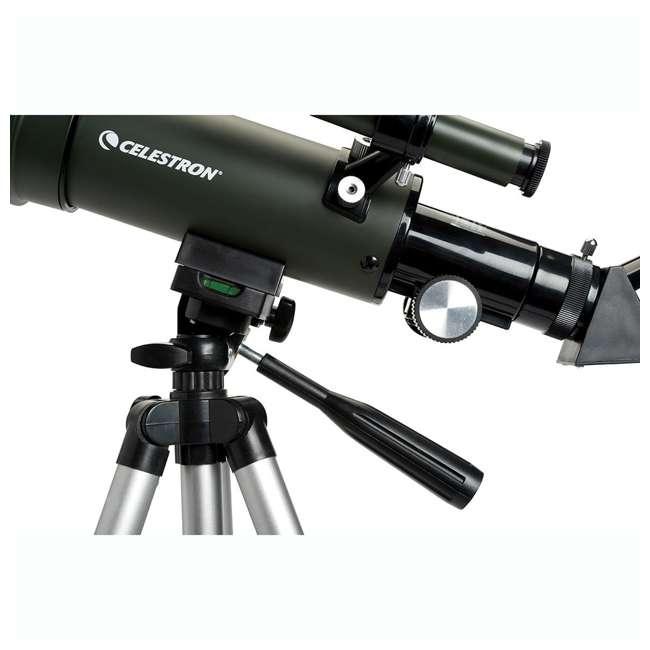 4 x 22005 [Copy 1] Celestron TravelScope 60AZ 60x 700mm Telescope, Silver (4 Pack) 4