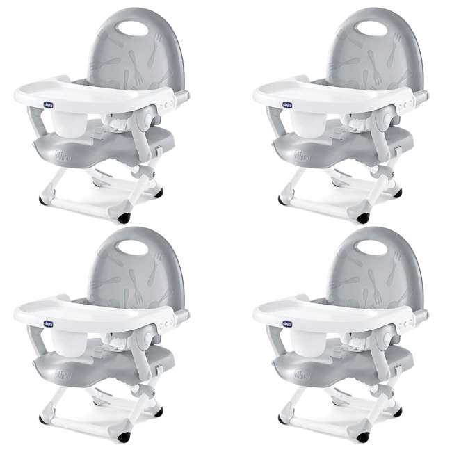 4 x CHI-0707936347 Chicco PocketSnack Booster Seat with Tray (4 Pack)
