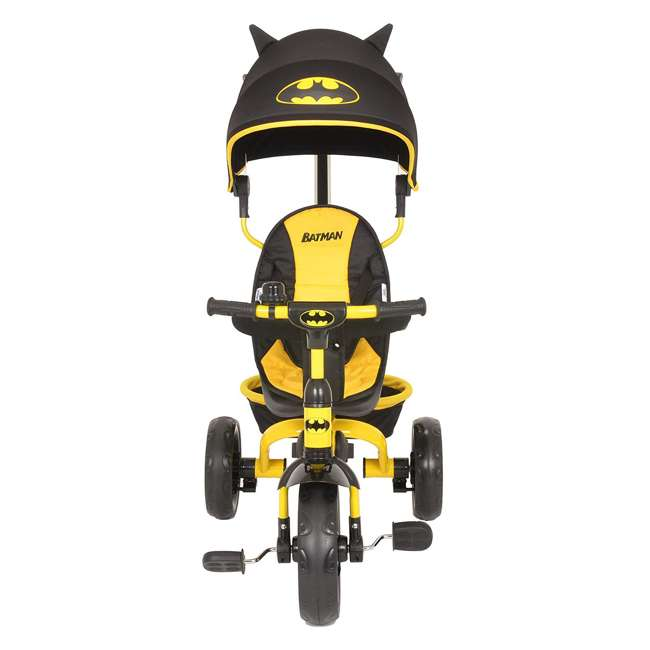 KE-7501BAT Kids Embrace 4 in 1 Push & Pedal Convertible 3 Wheel Batman Trike & Stroller 1