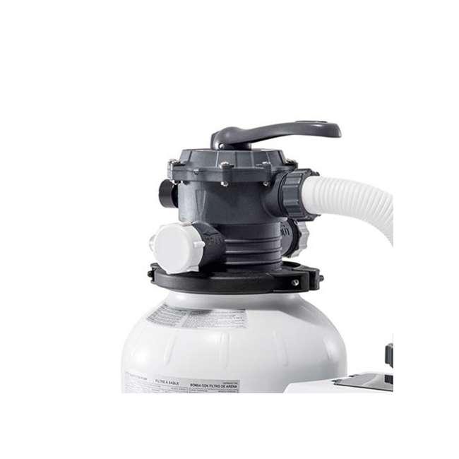 26645EG + 26669EG Intex Pool Sand Filter Pump w/Krystal Clear Saltwater System 4
