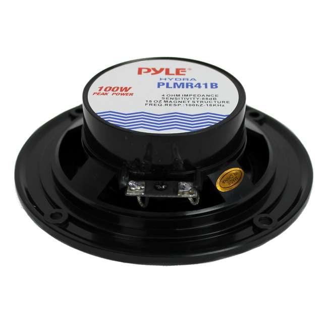 PLMR41B Pyle PLMR41B 4-Inch 100 Watt Dual Cone Waterproof Marine Speakers (Pair) 3