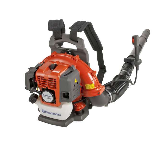 HV-BL-965102208 + HV-TOY-589746401 Husqvarna 130BT 29.5CC Gas Leaf Backpack Blower and Kids Toddler Toy Leaf Blower 2