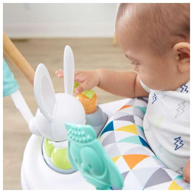 61912186 Evenflo 61912186 Exersaucer Woodland Wonder Baby Play Activity Center Jumper 6