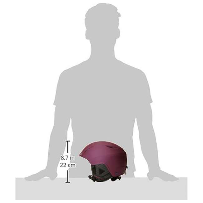 L39952200 - S Salomon Pearl2 Women Ski Snowboard Helmet Small, Red (2 Pack) 5