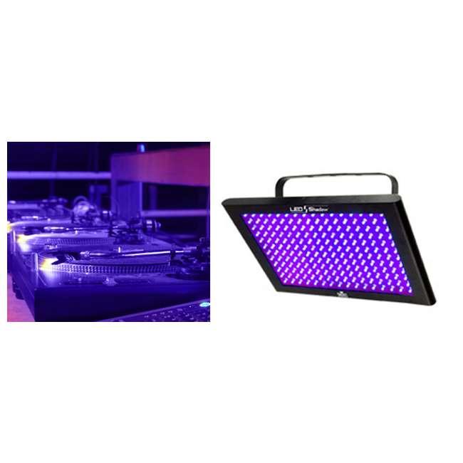 3 x TFX-UVLED Chauvet LED Shadow TFX-UVLED 3 Channel UV Blacklight Panel Lights (3 Pack) 1