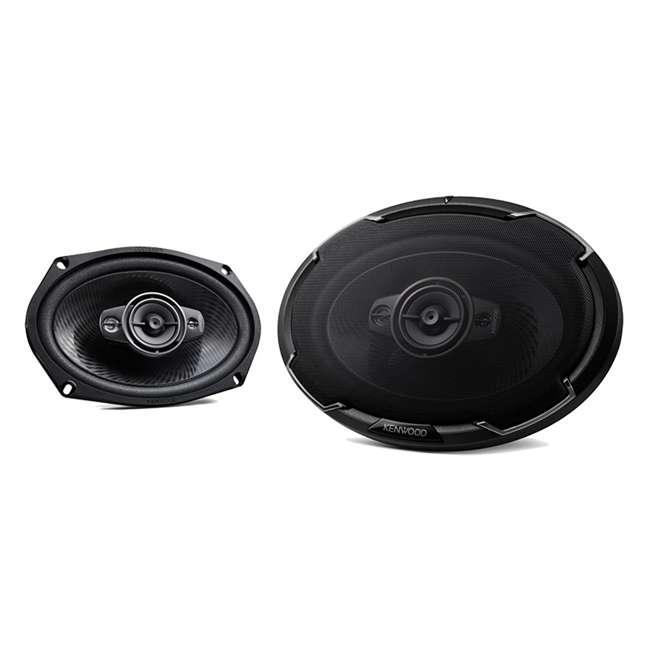 "KFC-6986PS Kenwood KFC-6986PS 6 x 9"" 400W 3-Way Car Audio Coaxial Stereo Speakers, Pair"