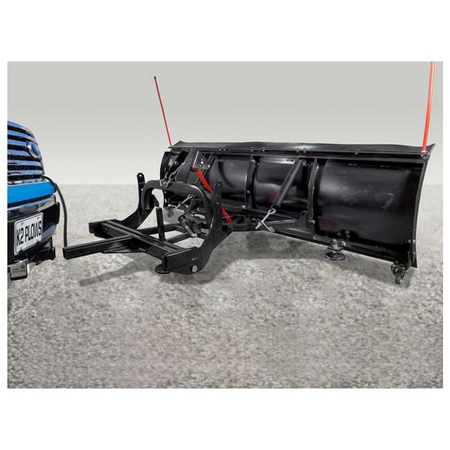 AVAL8219 DK2 Avalanche AVAL8219 Universal Snow Plow Kit 82 x 19 x 2 Inch Receiver Mount 4
