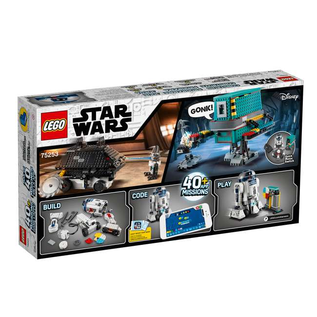 6251933 LEGO BOOST 75253 Droid Commander Block Building Kit w/ 3 Star Wars Robot Toys 3