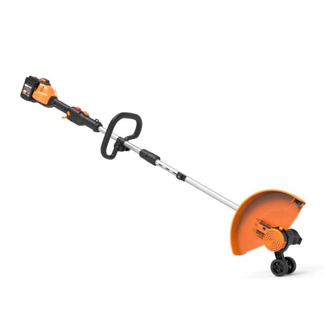 "WG184 WORX WG184 13"" 40V Lithium-Ion Cordless String Trimmer with Batteries & Charger 5"