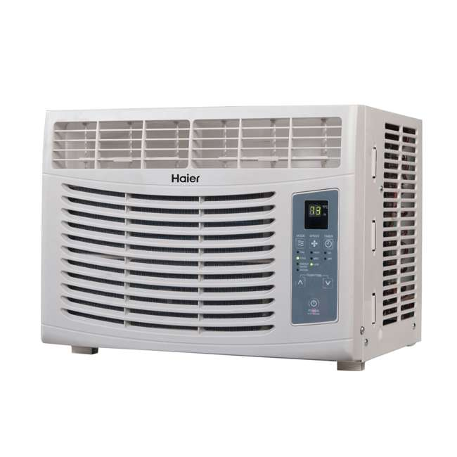 HWR05XCR-L Haier HWR05XCR-L 5000 BTU Electric Fixed Chassis Window Air Conditioner & Remote 1