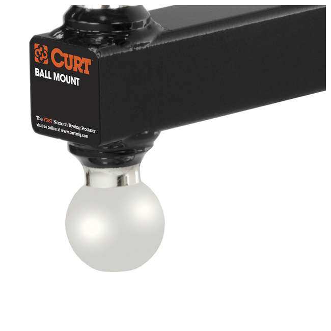4 x CURT-45002 Curt 2-Inch Hollow Shank Multi-Ball Mount (4 Pack) 4