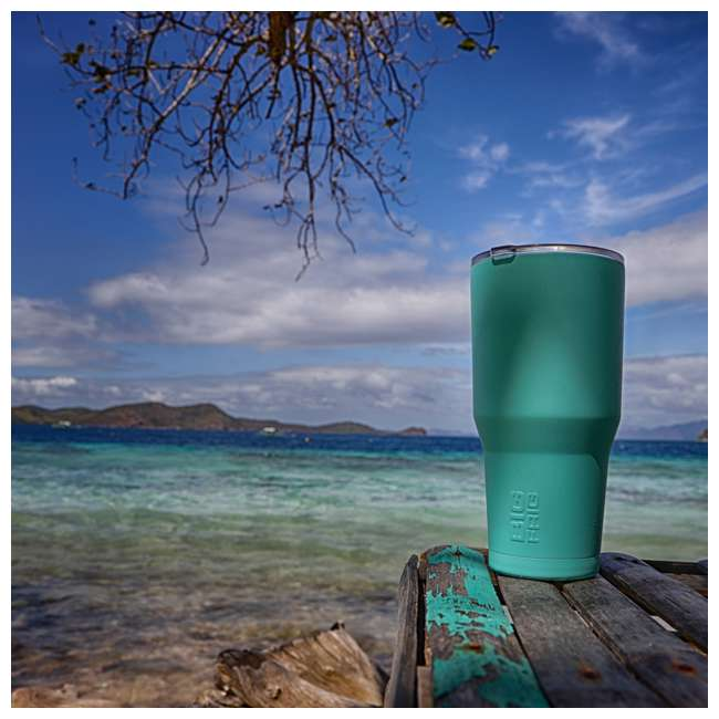 BFT30-TB Big Frig 30 Ounce Stainless Steel Tumbler, Tiffany Blue 3